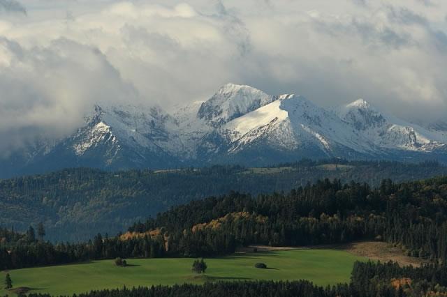 Kluszkowce okolica góry